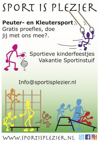 sport plezier kinderen